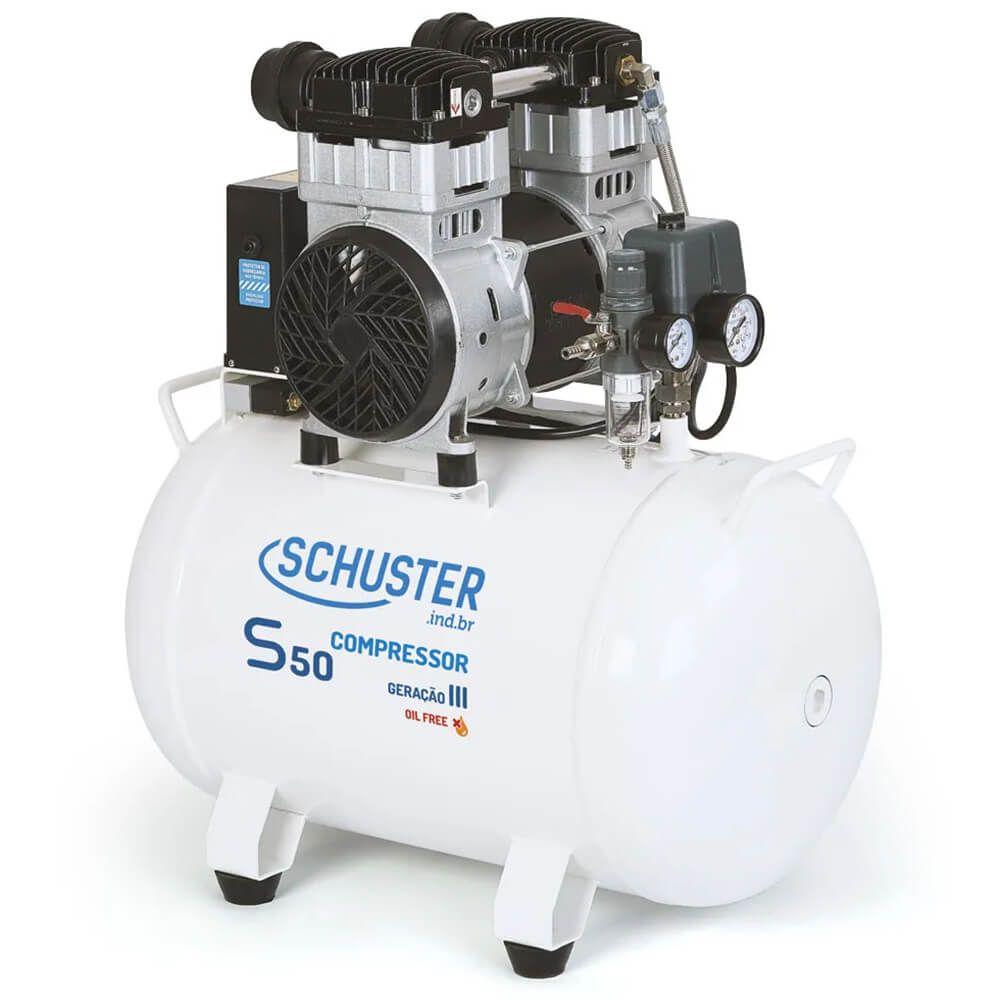 Compressor de Ar S50 GIII - Schuster