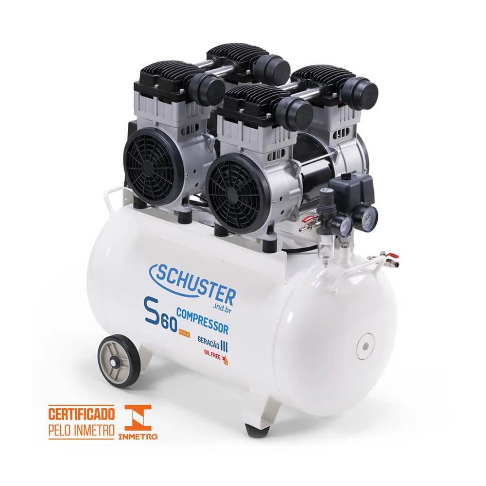 Compressor de Ar S60 MAX GIII - Schuster