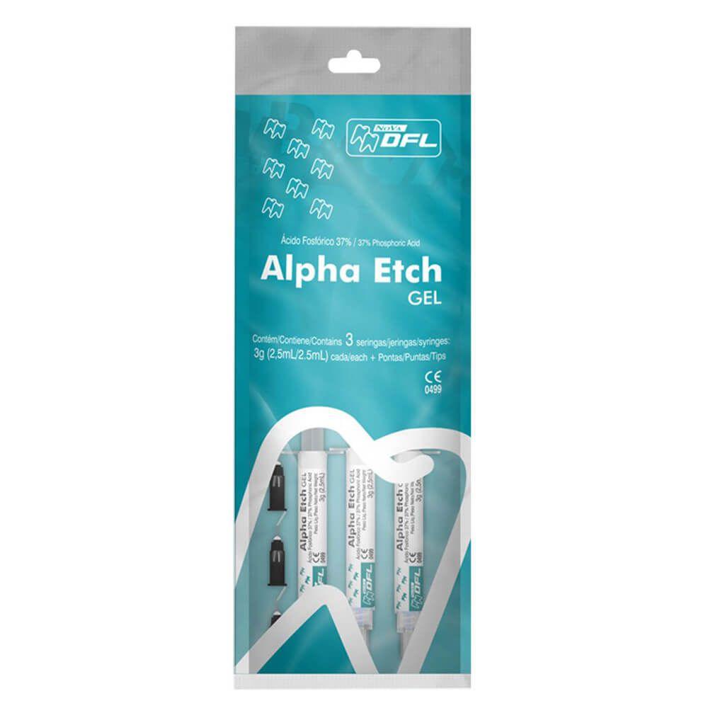 Condicionador Ácido Alpha Etch Gel 37% - Nova DFL
