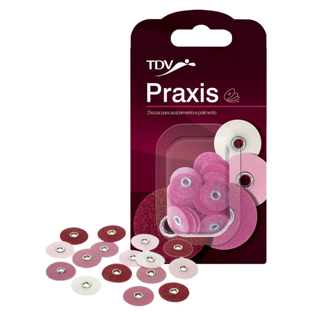 Disco de Lixa p/ Acabamento e Polimento Praxis - TDV