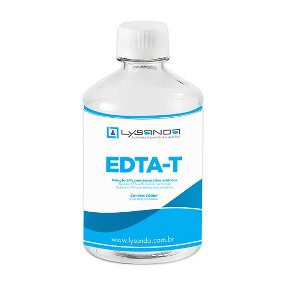 EDTA-T Tensoativo Aniônico 17% com 500ml - Lysanda