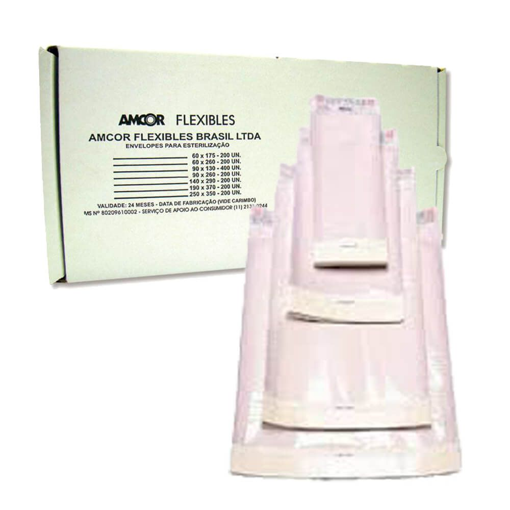 Envelopes para Esterilização - Amcor