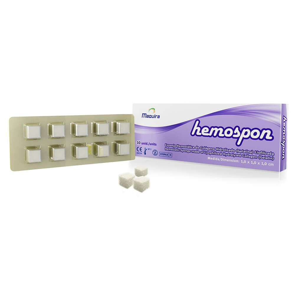 Esponja Hemostática Hemospon - Maquira