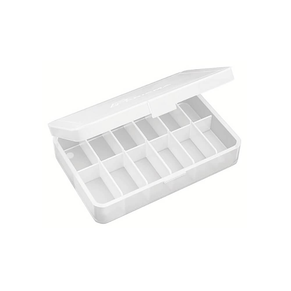 Estojo Plástico Pequeno p/ Esterilização c/ 12 Divisões - Prisma