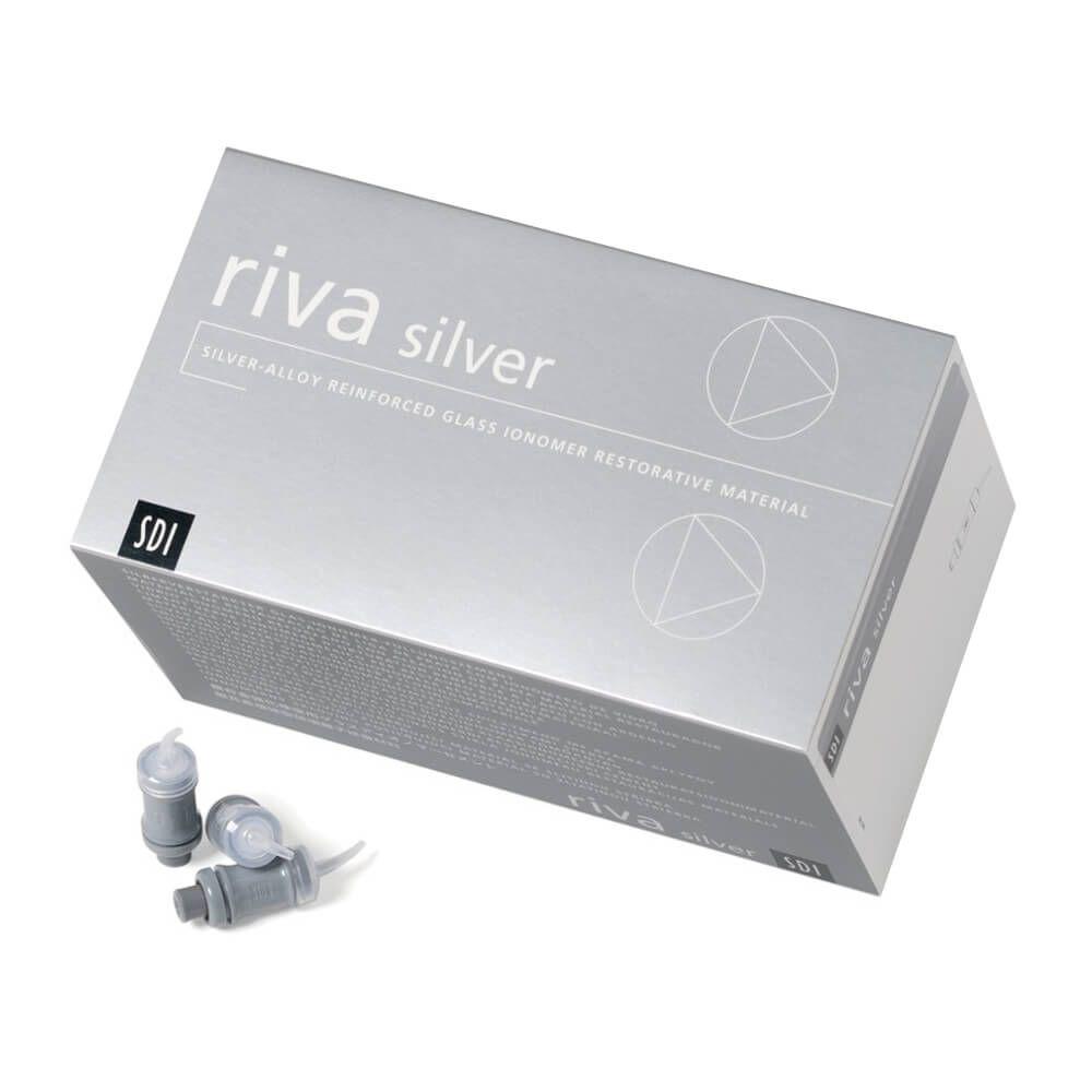 Ionômero de Vidro Restaurador Riva Silver em Cápsula - SDI