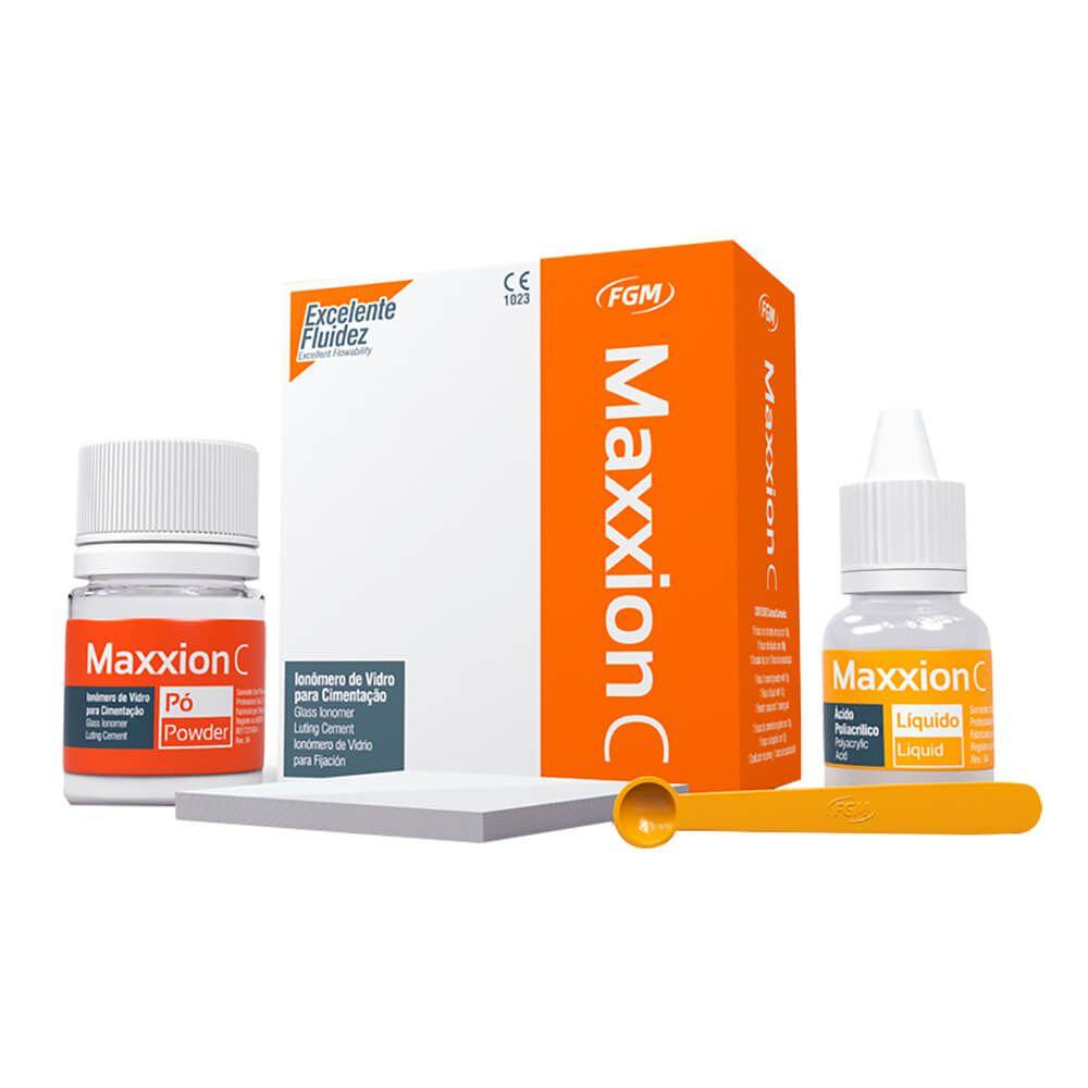 Ionômero de Vidro p/ Cimentação Maxxion C - FGM (Val. 03/2020)