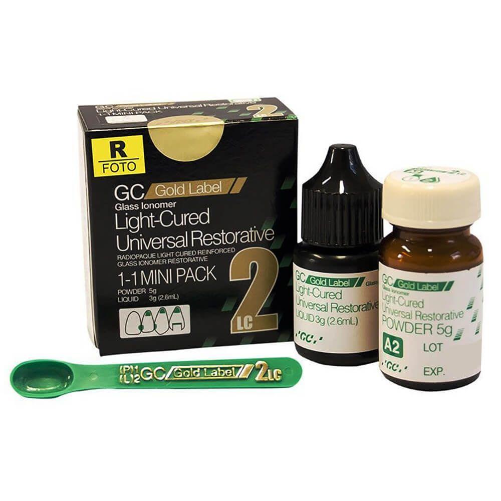 Ionômero de Vidro Restaurador GC Gold Label 2 LC - GC