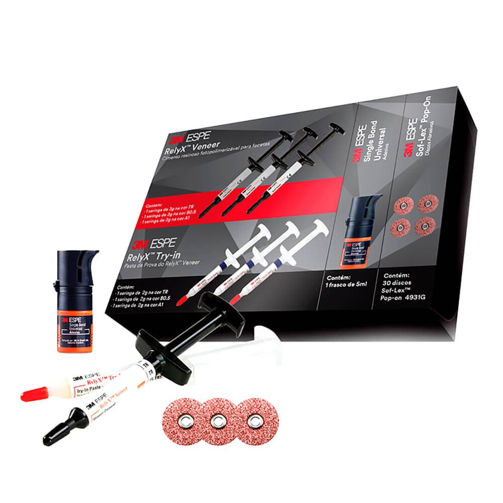 Kit Cimento para Facetas RelyX Veneer Elegance - 3M ESPE