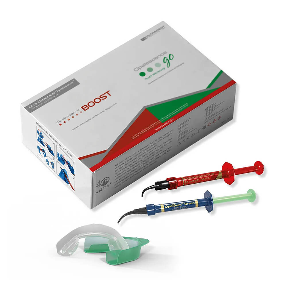 Kit Clareador Opalescence Boost + Opalescence Go - Ultradent