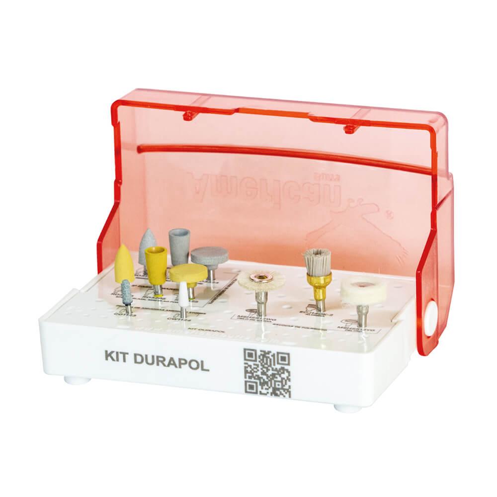 Kit de Acabamento e Polimento Diamantado para Cerâmica Durapol CA - American Burrs