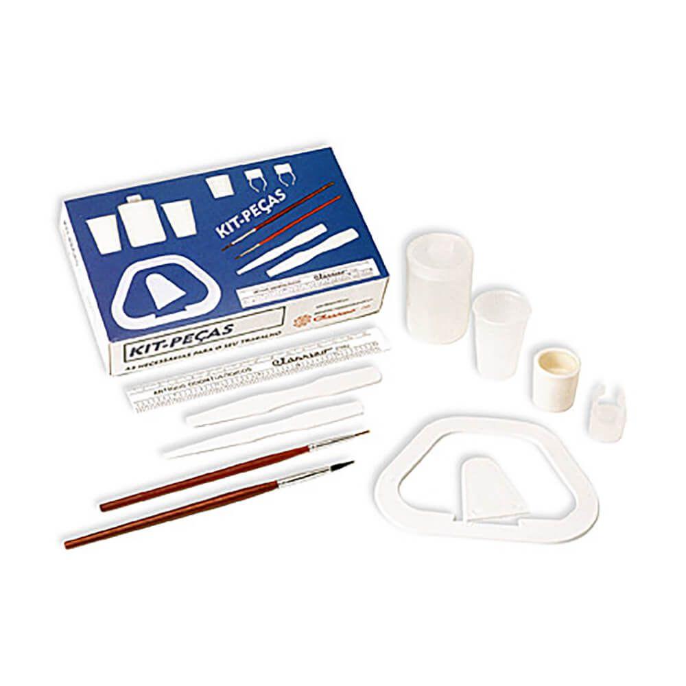 Kit de Peças para Trabalhar com Resinas - Clássico