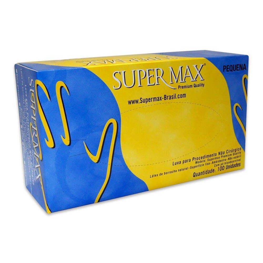 Luva de Látex para Procedimentos (Com Pó) - Supermax