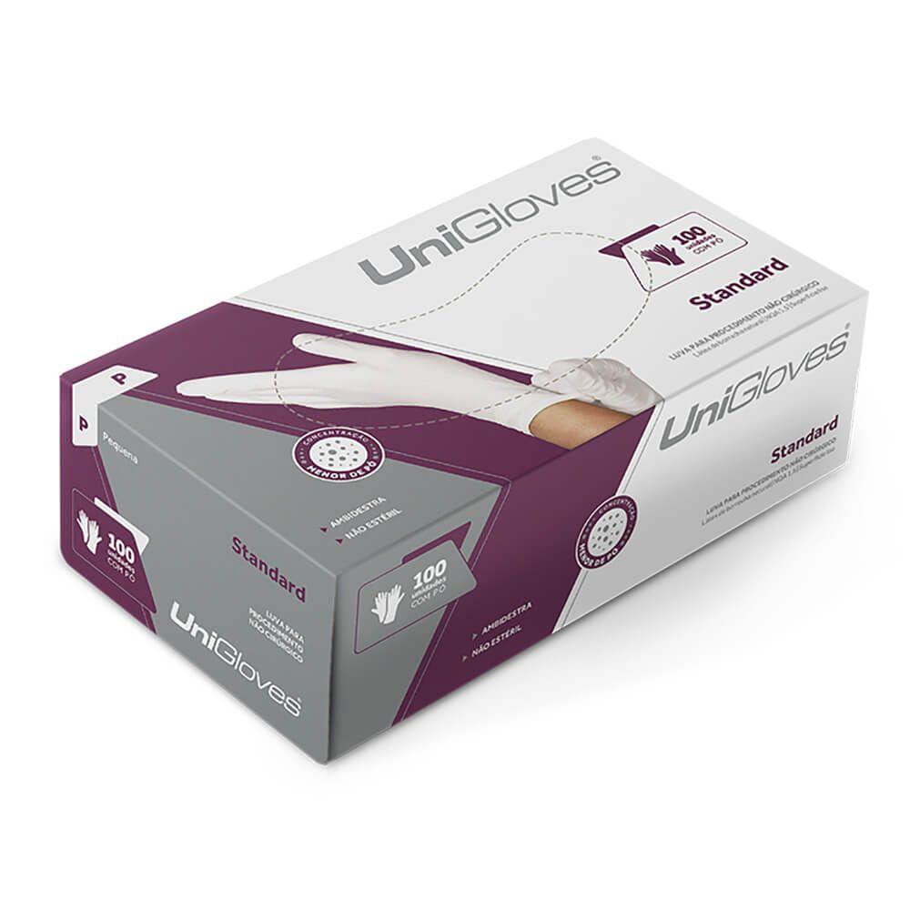 Luva de Látex para Procedimentos Standard (Com Pó) - Unigloves