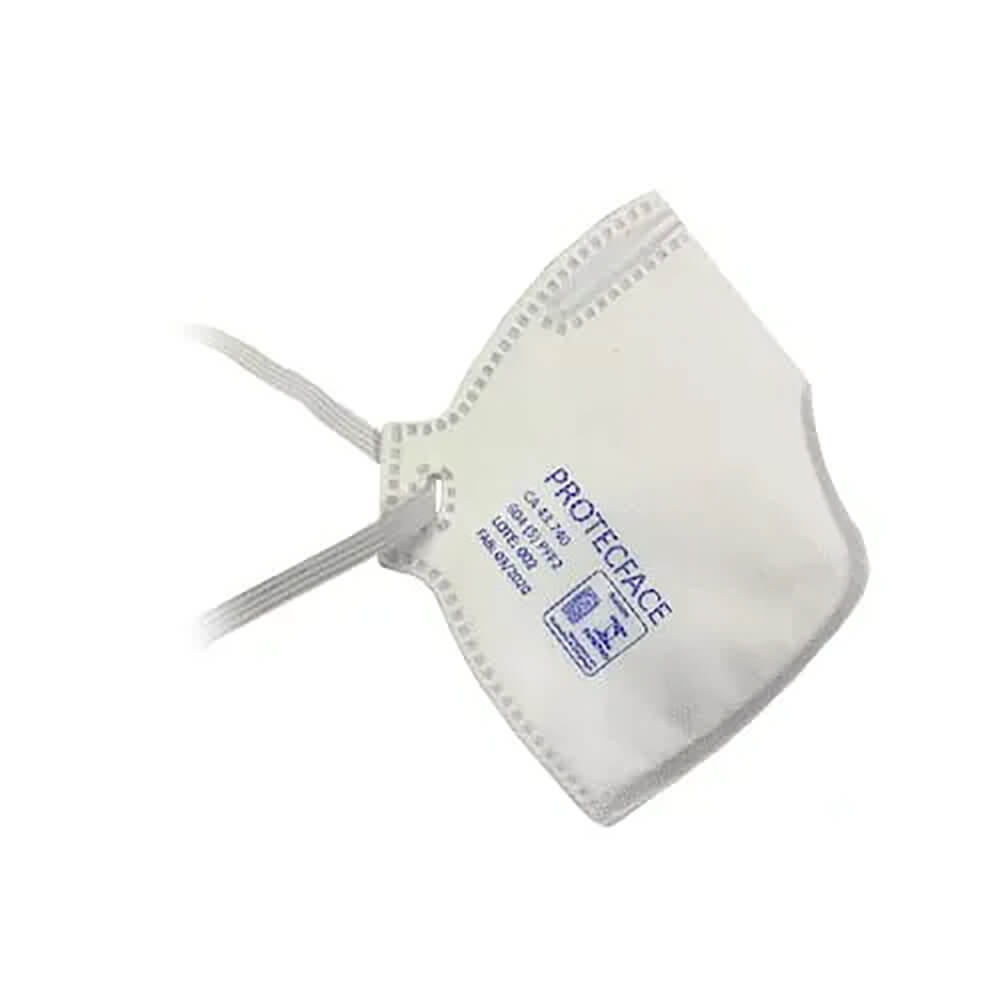 Máscara Respirador Dobrável PFF2 (N95) - ProtecFace
