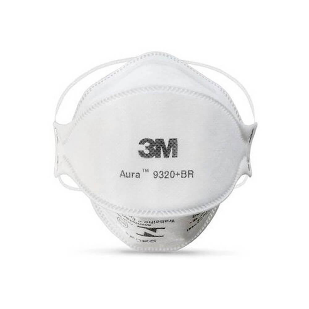 Máscara Respirador PFF2 (N95) Aura 9320+BR - 3M ESPE