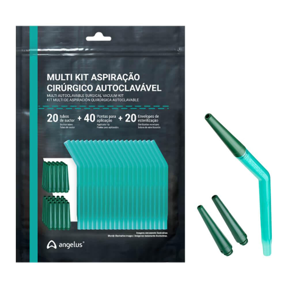 Multi Kit Aspiração Cirúrgico Autoclavável - Angelus