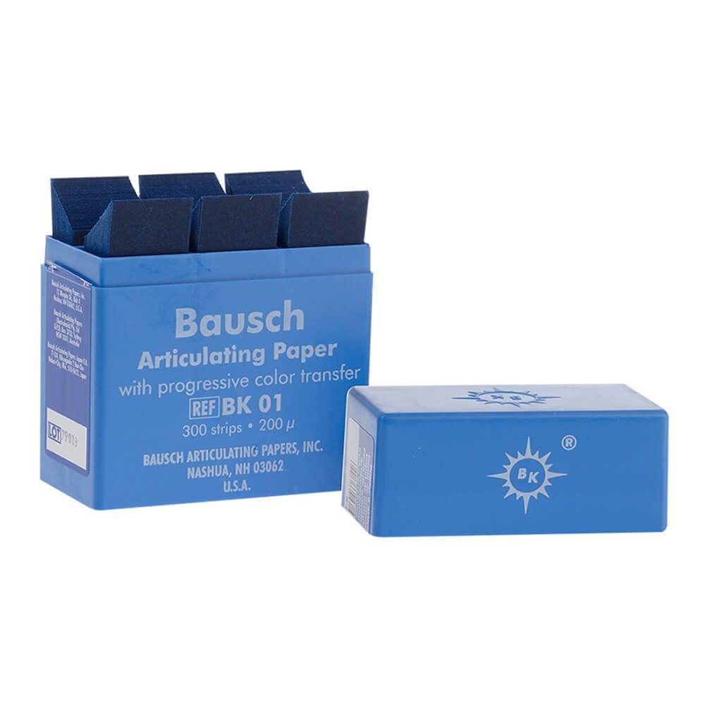 Papel Carbono p/ Articulação BK 01 - Bausch