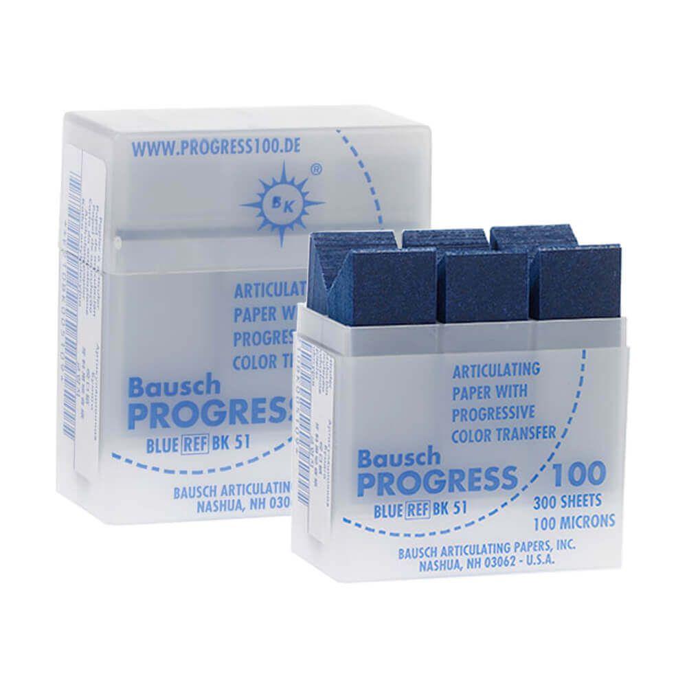 Papel Carbono para Articulação Progress 100 BK 51 - Bausch