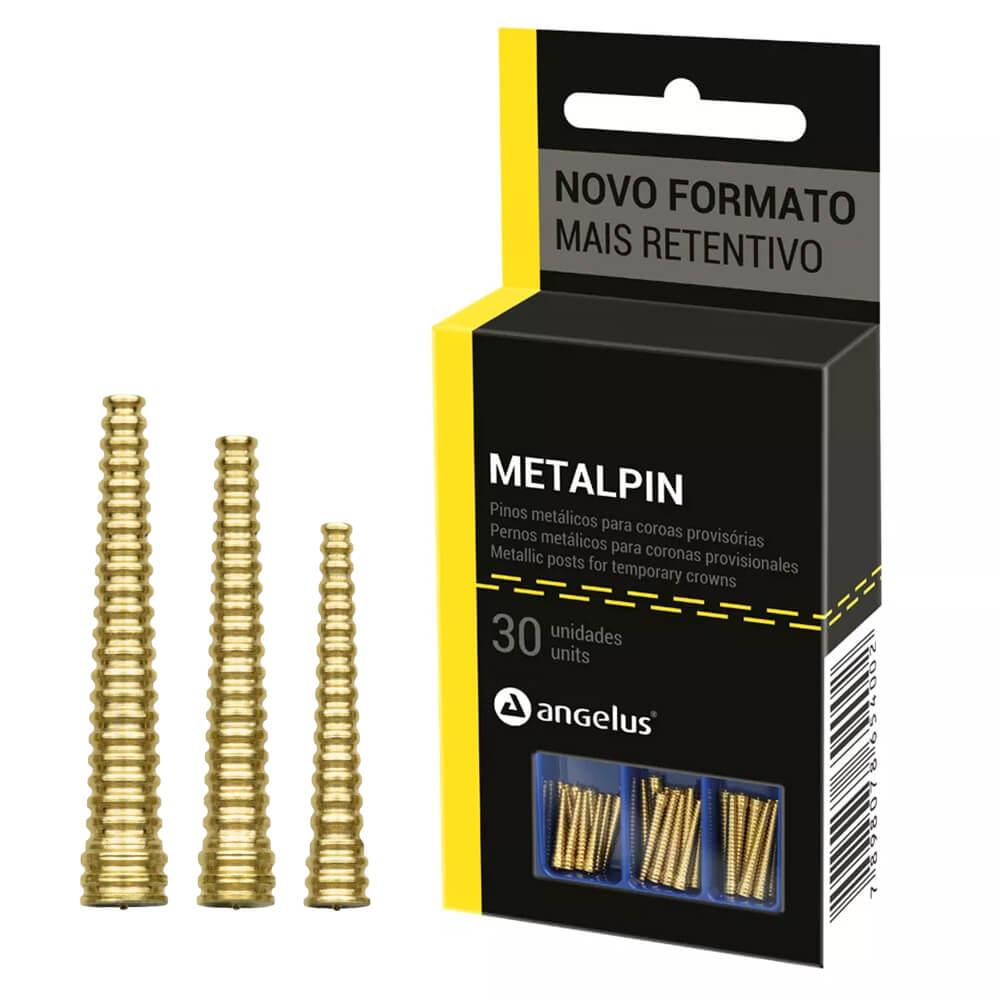 Pinos Metálicos p/ Provisórios Metalpin - Angelus