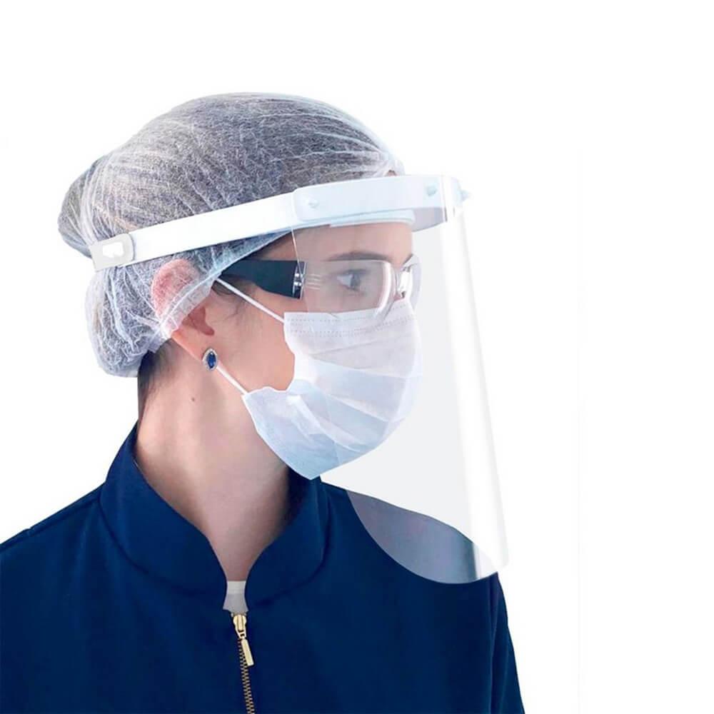 Protetor Facial - Face Shield (Viseira) Visprotek - Aditek