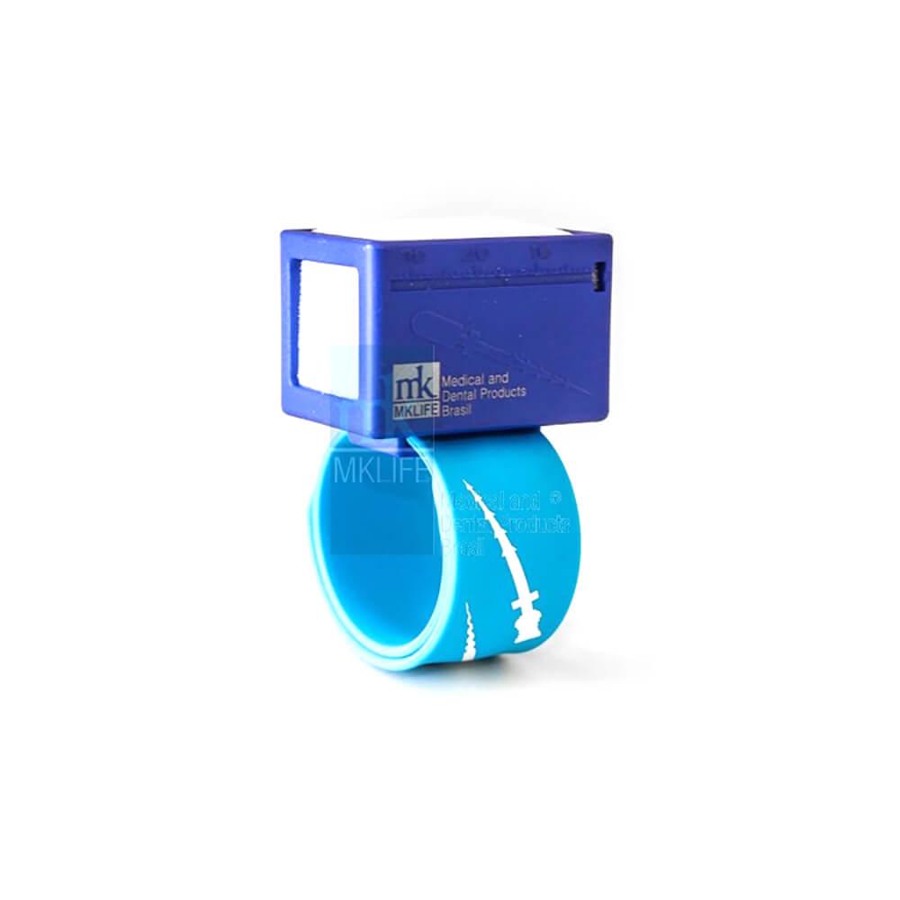 Régua Endodôntica Milimetrada com Tamborel para Pulso - MK Life