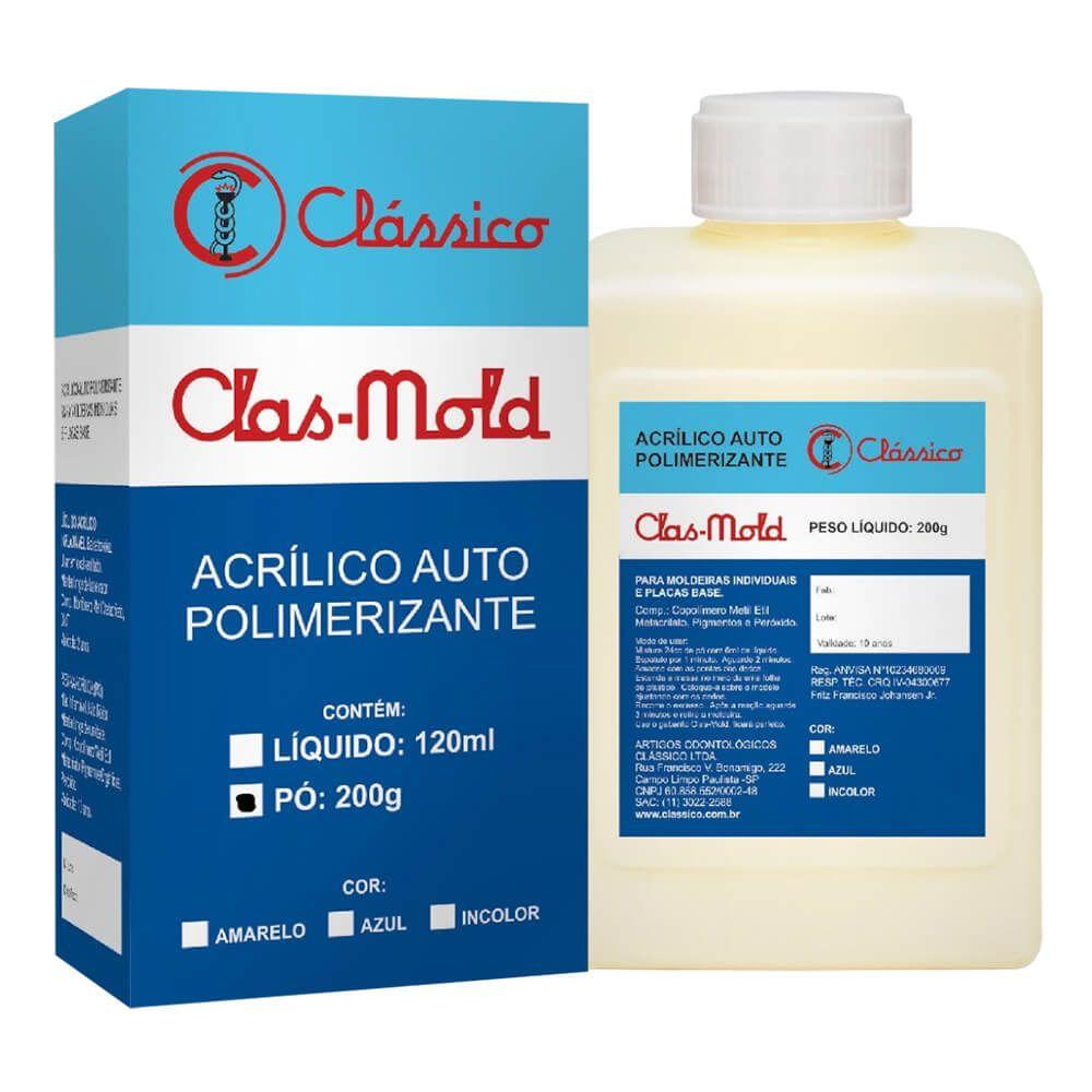 Resina Acrílica Auto Clas-Mold - Clássico