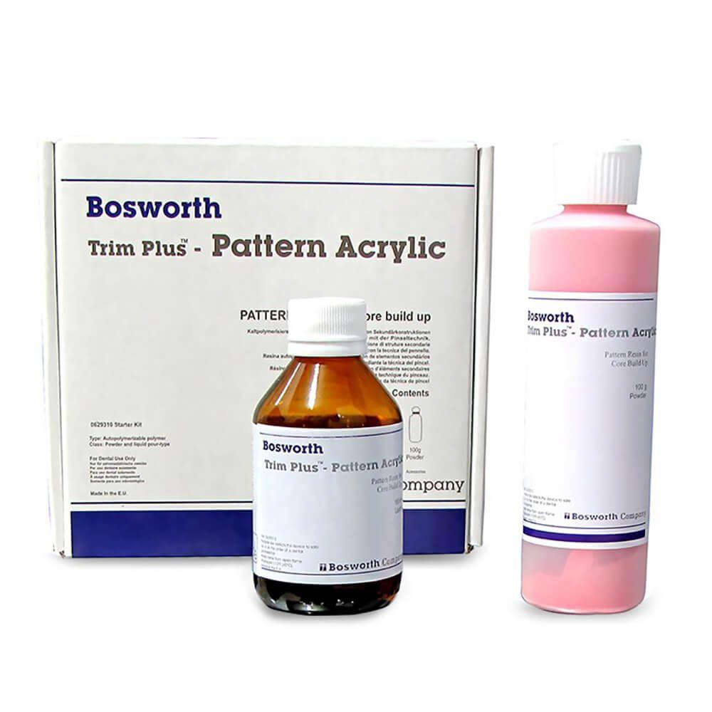 Resina Acrílica Autopolimerizável Trim Plus Pattern Acrylic - Bosworth