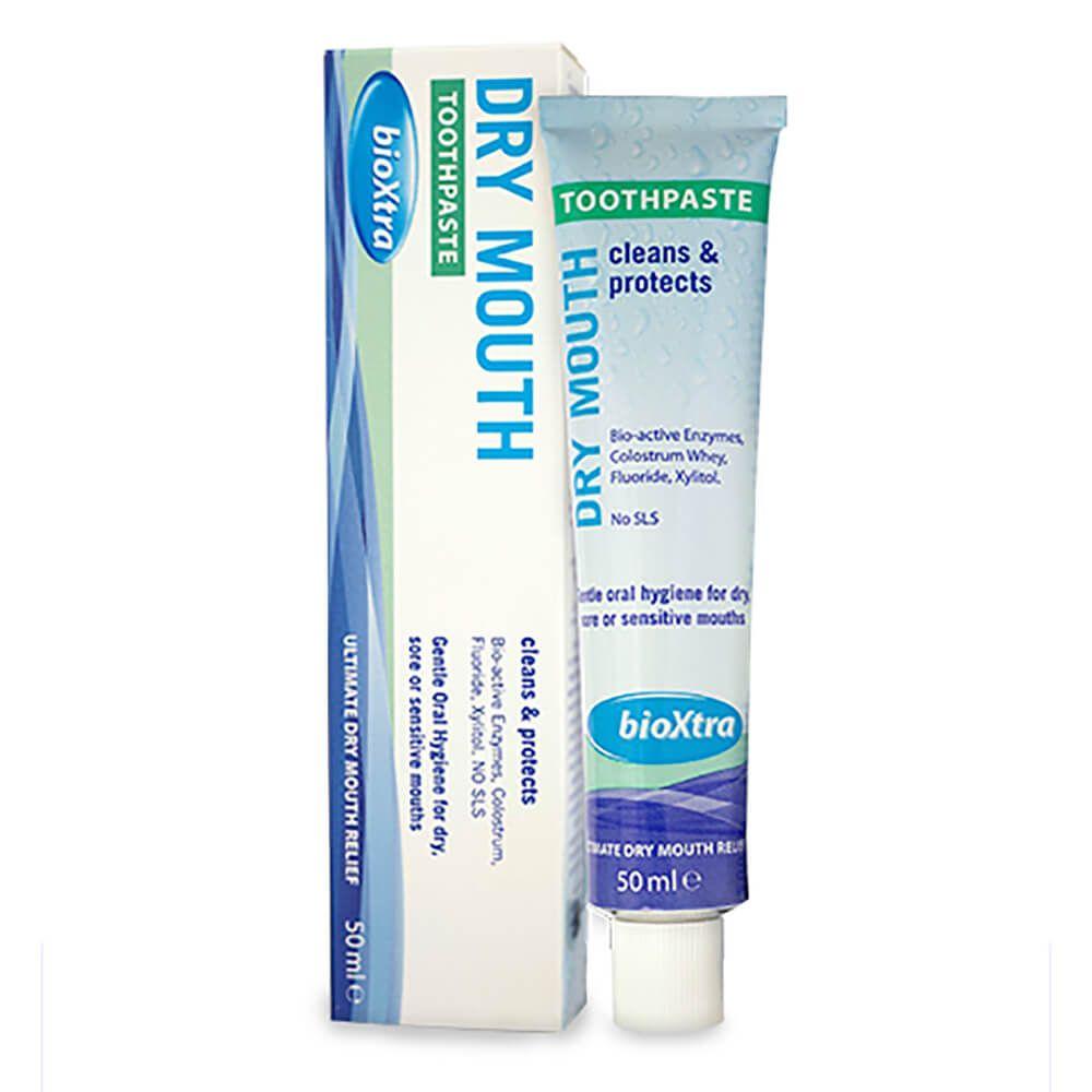 Saliva Artificial para Boca Seca Creme Dental - Bioxtra