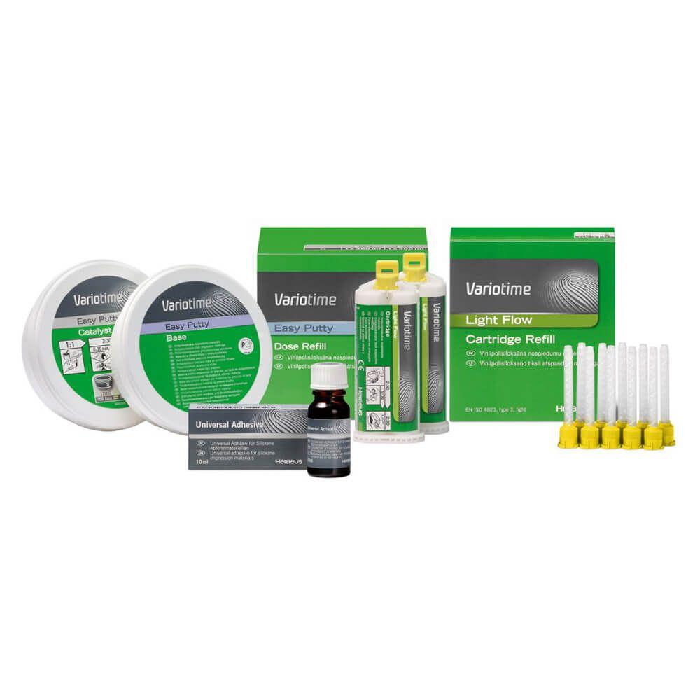 Silicone de Adição Variotime (Flexitime) - Kulzer