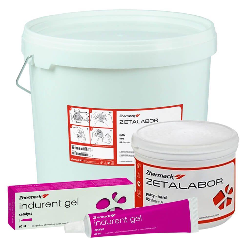 Silicone de Condensação par Laboratório Zetalabor - Zhermack