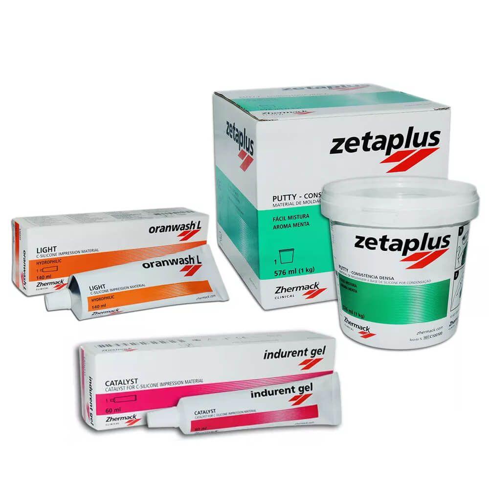 Silicone de Condensação Zetaplus - Zhermack