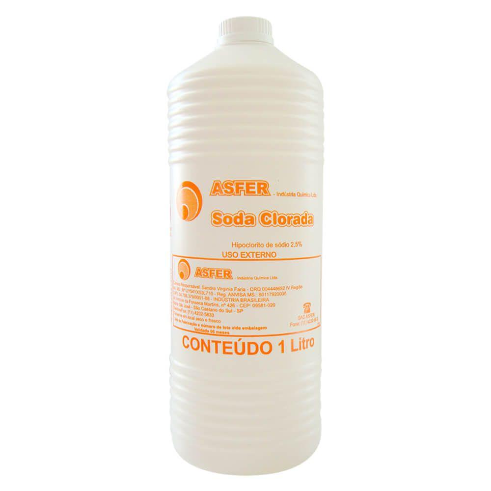 Soda Clorada 2,5% - Asfer