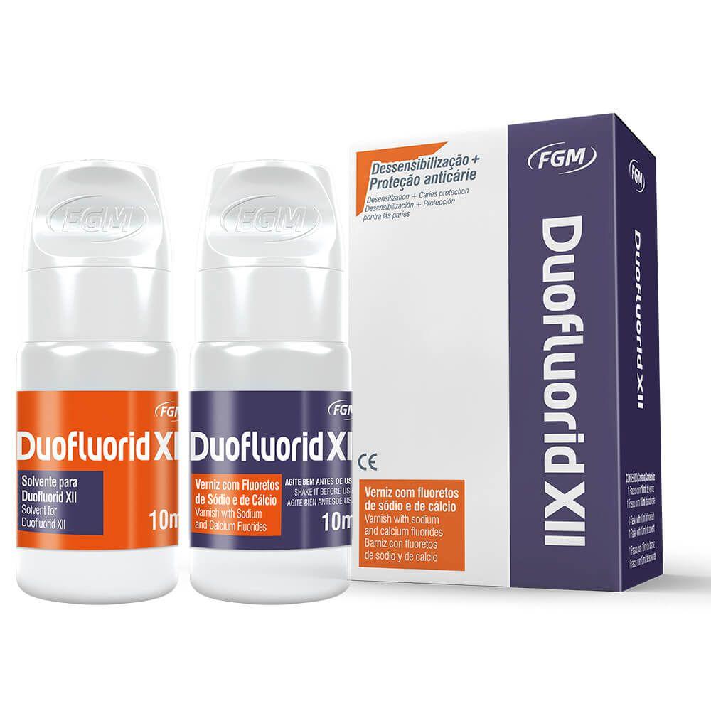 Verniz de Flúor Dessensibilizante Duofluorid XII - FGM