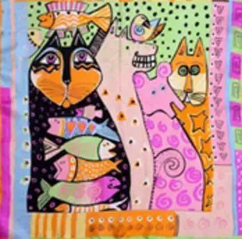 Lenço/Bandana Cat Summer