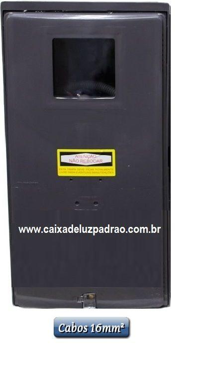 1e8931a8f1d Caixa de Luz 1 Medidor cabos 16mm² (visor rua) - Elétrica Padrão