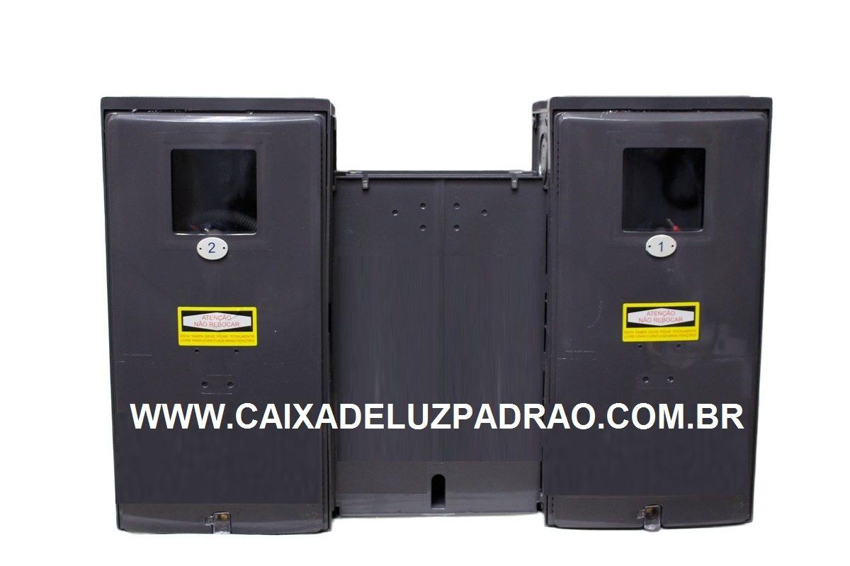 1034f374b07 Kit Padrão Eletropaulo 2 Medidores Visor Rua - Elétrica Padrão