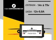 AU 12 (0,8A) - Conversor DC/DC 14V  á 75v  para 12V-0,8A