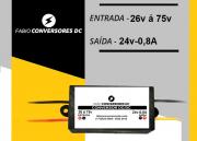 AU 17(0,8) - Conversor DC/DC  - Entrada 26v á 75v para 24V - 800mA (0,8A)