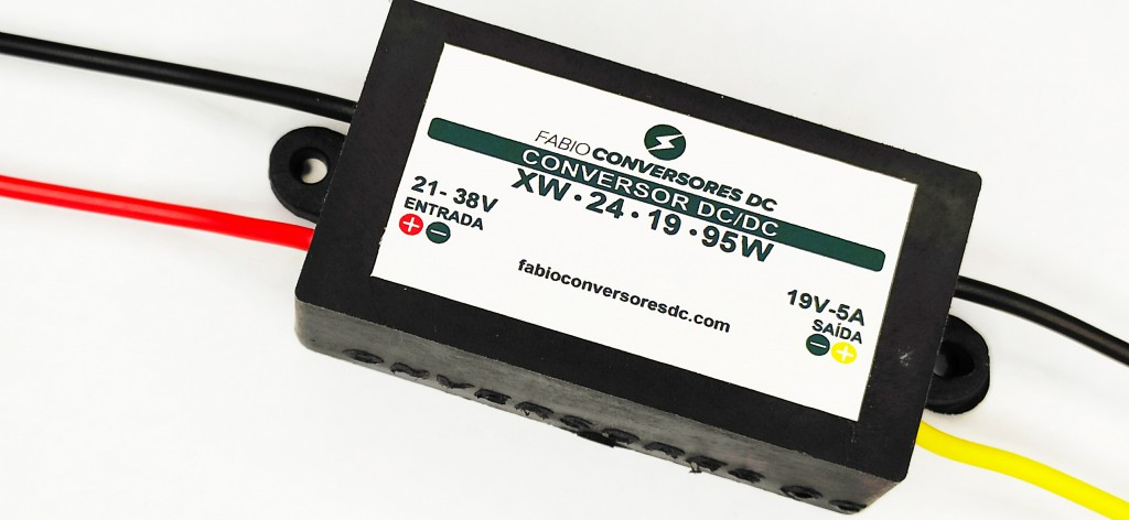 AU 02(19) - Conversor DC/DC de 24V para 19V-5A