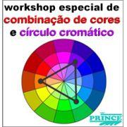 15/02 (Sábado) WORKSHOP DE COMBINAÇÃO DE CORES E CIRCULO CROMÁTICO