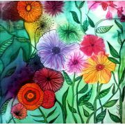 21/09 (sexta feira) - FLORAL COM GRAFISMOS