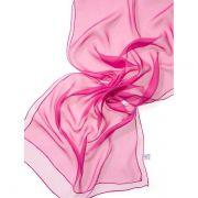 Echarpe Chiffon Colorida 180x55cm - Pink