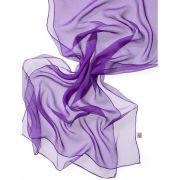 Echarpe Chiffon Colorida 180x55cm - Lavender