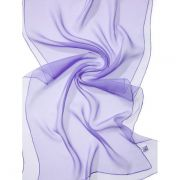 Echarpe Chiffon Colorida 180x55cm - Lilac