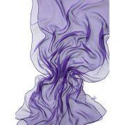Echarpe Chiffon Colorida 180x55cm - Violet