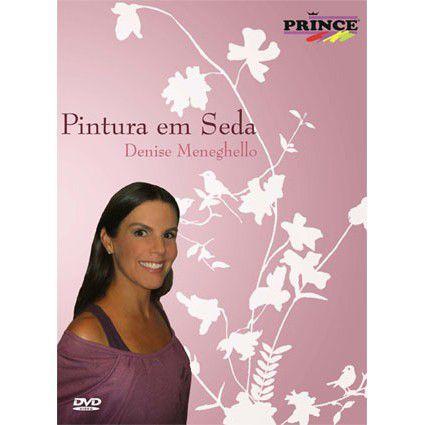 DVD Pintura em Seda  Denise Meneghello