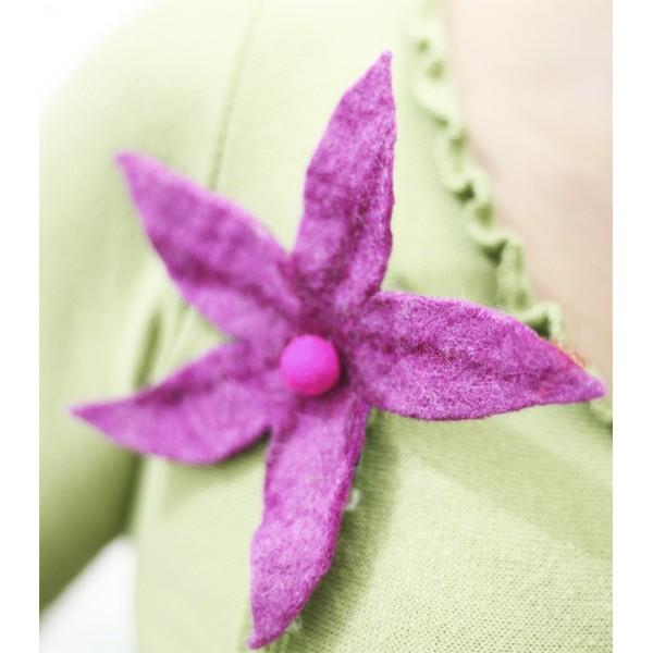 Broche Flor Estrela