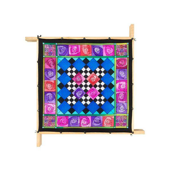 Lenço Guttado 55x55cm - Rose Quilt