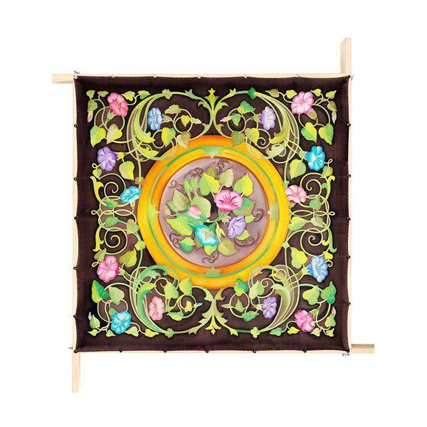 Lenço Guttado 90x90cm - Blossom