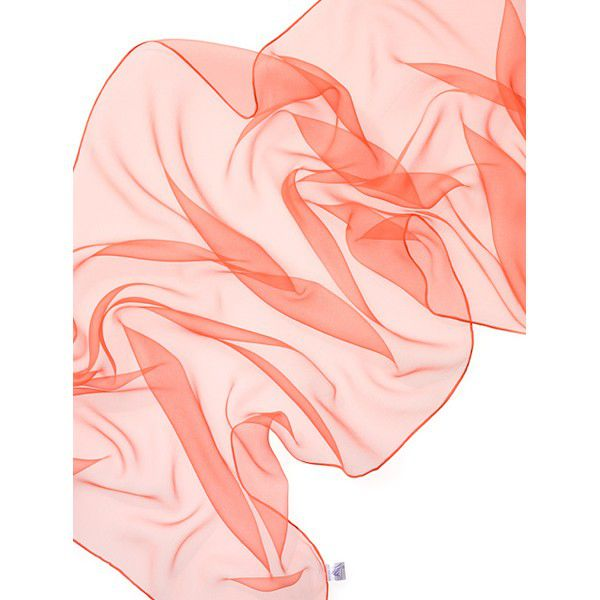 Echarpe Chiffon Colorida 180x55cm - Orange